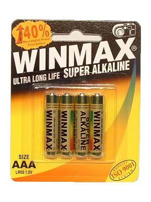 Winmax Aaa Super Alkaline Batteries