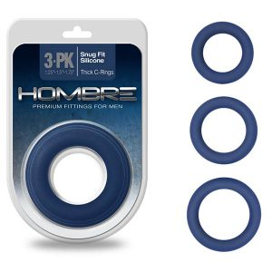 Hombre Snug Fit Thick C-Rings