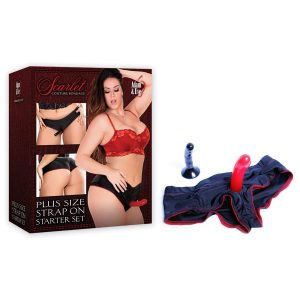 Scarlet Couture Plus Size Strap On Starter Set