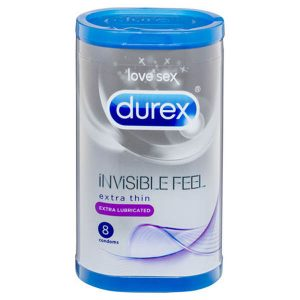 Durex Invisible Feel - Extra Lubricated