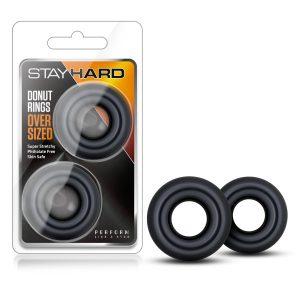 Stay Hard - Donut Rings Oversized
