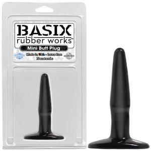 Basix Rubber Works Mini Butt Plug