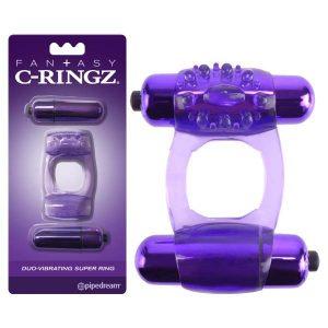 Fantasy C-Ringz Duo-Vibrating Super Ring