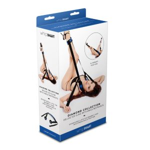 WhipSmart Diamond Deluxe Sex Sling with Ankle Restraints
